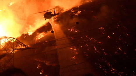 After mega-heatwave, Los Angeles faces mega-wildfire #LA #climate | Messenger for mother Earth | Scoop.it