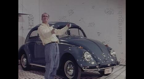 Quand de Funès faisait la promo de la Coccinelle - Autonews.fr | Volkswagen Beetle | Scoop.it