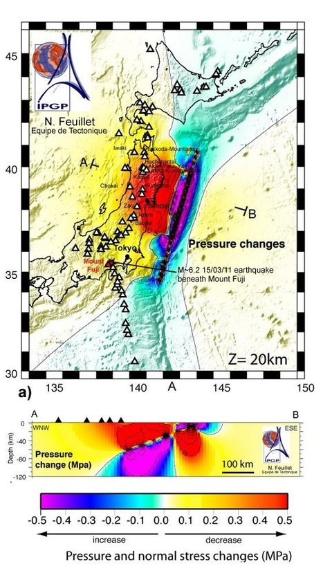Séisme de Sendai : les volcans japonais sont aussi à surveiller…   Sciences et Avenir   Japon : séisme, tsunami & conséquences   Scoop.it
