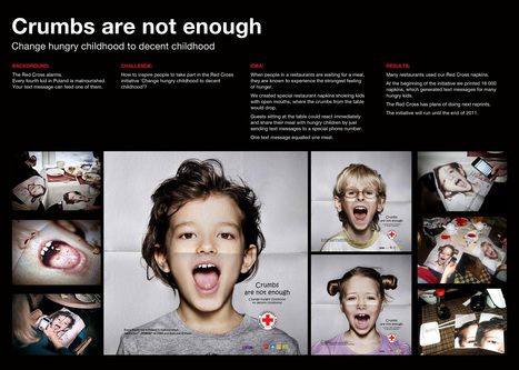 Charity Crumbs Napkins for Red Cross | I wish I'd thought of that | Scoop.it