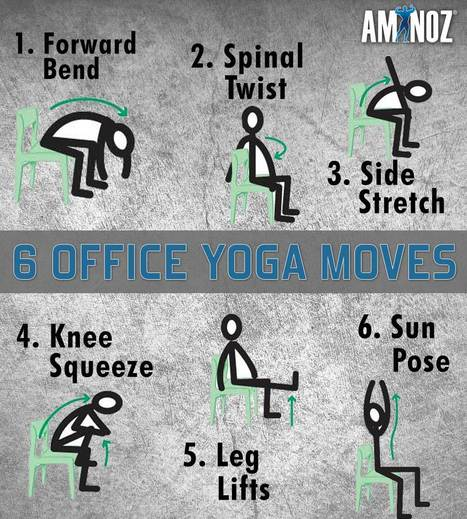 Aminoz tips for Office Yoga | Aminoz Health and Sports Supplements | Scoop.it