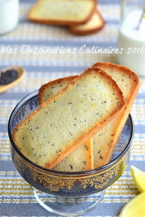 recette Financiers au citron et au graines de pavot | Desserts - Mousses - PannaCotta - glaces | Scoop.it