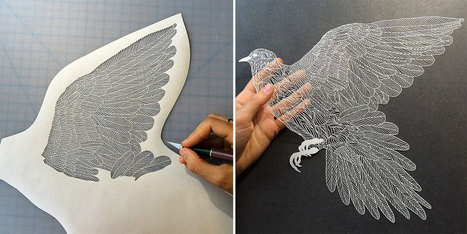 Incredibly Intricate Hand-Cut Paper Art By Maude White | tecnologia s sustentabilidade | Scoop.it