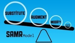 How To Use The SAMR Model For Classroom Tasks - Edudemic | eLearning, Blended Learning and Mobile Learning | Scoop.it