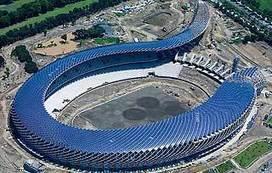 Arquitectura verde: Estadio solar más grande del mundo. - ENERGIA LIMPIA XXI | Urbanismo, urbano, personas | Scoop.it