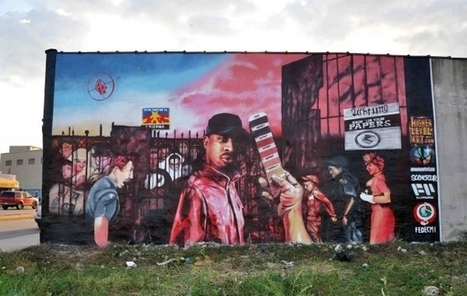 Momentum Art Tech x Chuck D | Visions Paradox Magazine (VPMAG) | the mural archive project | Scoop.it