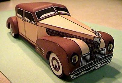 Papermau: The Weekend Pic - Automovil Moderno Vintage Paper ...   Fabricación Automotriz   Scoop.it