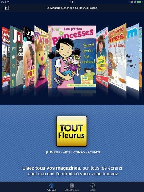 TOUT Fleurus, le kiosque numérique - Tous les livres et la littérature jeunesse | io | Scoop.it