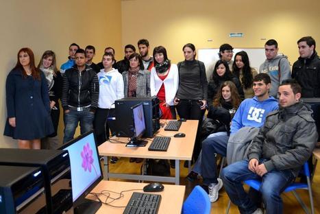 La escuela taller para las nuevas tecnologías abre sus puertas - Diario de Navarra | ¡Las TICE en el aula! | Scoop.it