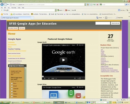 Assistive Technology - Accessing Your Google Account and Making Comments @ SFSD | SFSD iPad Scoop | Scoop.it