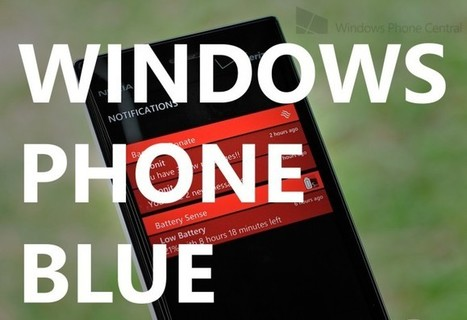 Is this video of Windows Phone 8.1 'Blue' on a Nokia Lumia 920? [Update: fake] | Windows Phone Central | Programming - WP | Scoop.it