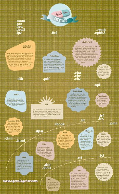 Infografía: formatos de ebook | Books&eBooks | Scoop.it
