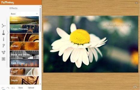 PicMonkey, completo editor de imágenes online y gratuito | Utilidades TIC para el aula | Scoop.it
