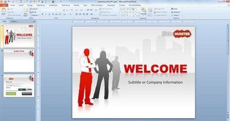 4 Sitios para Descargar Fondos para PowerPoint | Social Geek | Digital Presentations | Scoop.it