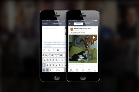 Facebook Launches 'Mentions,' The Exclusive FB App For Playing The Fame Game | TechCrunch | Social Media Marketing Hand Book | Scoop.it
