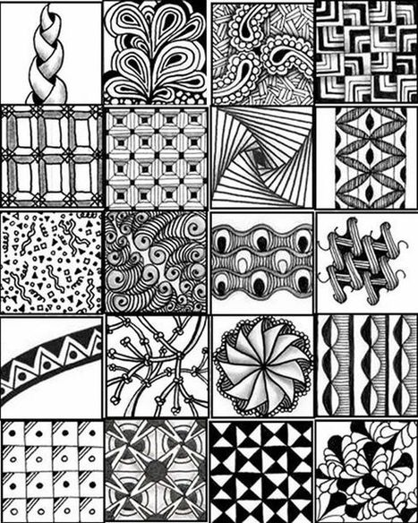 Zentangle Workshop - 11/07/2016 | Tennessee Libraries | Scoop.it