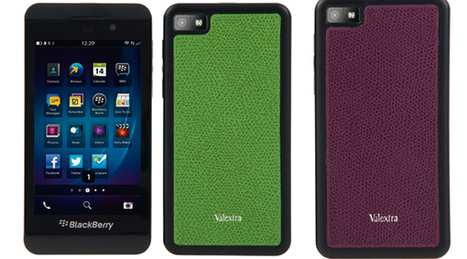 Le nuove cover Valextra per lo smartphone BlackBerry Z10 - Sfilate | Orologi, gioielli, hi tech e accessori by Sfilate.it | Scoop.it