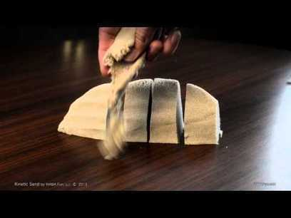 Kinetic sand | Interesting Product | Patent video | Awesome | Scoop.it