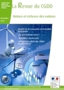 Nature et richesse des nations - Ministère de l'Environnement, de l'Energie et de la Mer | Actualités et Publications de l'ADEUPa, de ses partenaires  et du réseau des agences d'urbanisme | Scoop.it