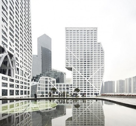 [Chengdu, China] Sliced Porosity Block / Steven Holl Architects, by Hufton + Crow | The Architecture of the City | Scoop.it