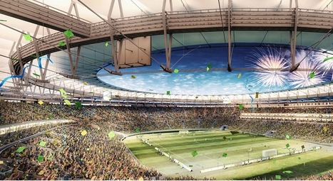 A Big Green Stadium (Renovation) For The 2014 World Cup ... | Brandon's Sports Facility Management | Scoop.it