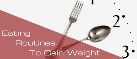 Need Of Diets And Their Eating Routines To Gain Weight | The Truth About Weight Gaining | Scoop.it