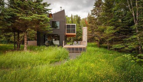 Charmante petite maison bois de vacances dans le Wisconsin | Maison ossature bois écologique | Scoop.it