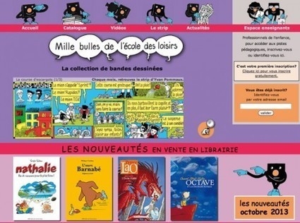 La collection de BD jeunesse « Mille bulles » de l'école des loisirs et ... | Littérature de jeunesse, actualités et thèmes | Scoop.it
