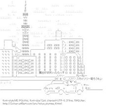 TOKYO SKYTREE | 2ch AA : Ascii Art Archives for Recycle | ASCII Art | Scoop.it