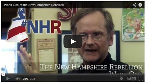 Video retrospect from the first week (of the #NHRebellion walk) | Coffee Party Election Coverage | Scoop.it