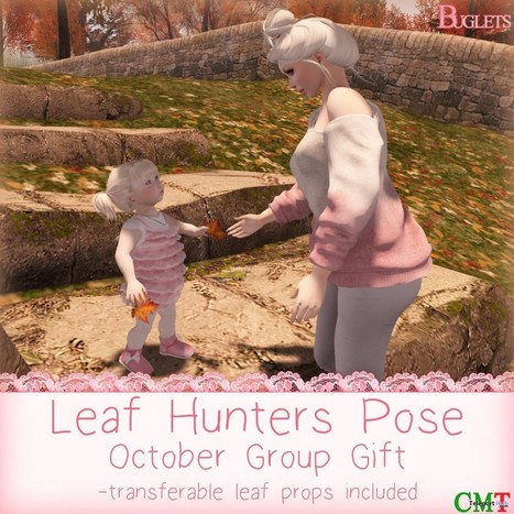 Leaf Hunters Pose October 2015 Group Gift by Buglets | Teleport Hub - Second Life Freebies | Second Life Freebies | Scoop.it