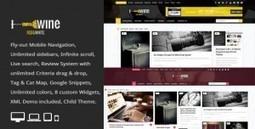 8 Magazine Blog News Premium WordPress Themes from ThemeForest | Freebies | Scoop.it