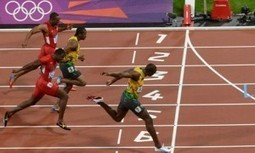 Usain Bolt Wins Men's 100m Sprint Setting New Olympic Record ... | Usain Bolt Athlétisme | Scoop.it