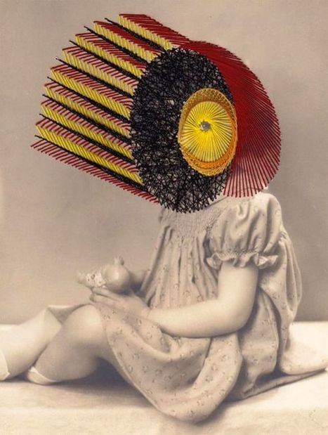 Maurizio Anzeri's embroidered vintage photographs | Fibre in Art | Scoop.it