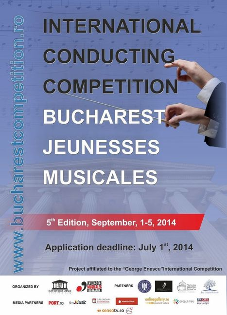 JM Romania: 5th International Conducting Competition 2014 | JMI Network | Scoop.it