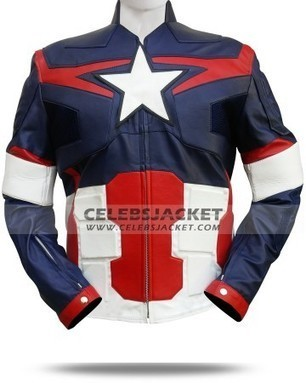 Avengers Age of Ultron Captain America Jacket   Celebsjacket.com   Scoop.it