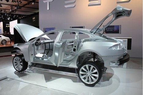 Tesla Model S Aluminum Body: Why Repair Costs Are Higher | Electric Cars in the UK | Scoop.it