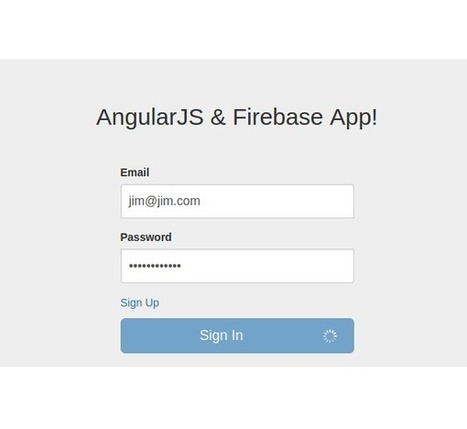 Creating a Web App From Scratch Using AngularJS and Firebase: Part 7 - Tuts+ Code Tutorial | Mobile Technology | Scoop.it
