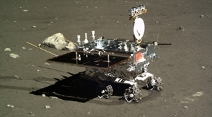 China's Moon rover awake but immobile   Planets, Stars, rockets and Space   Scoop.it