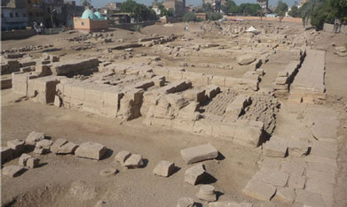 Amenhotep III head unearthed in Luxor - Ancient Egypt - Heritage - Ahram Online | Egyptology and Archaeology | Scoop.it