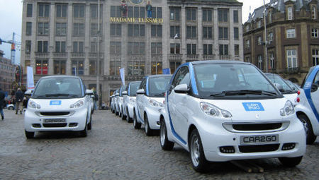 Mercedes Benz launches all-electric Car2Go carshare service | Sustainable Futures | Scoop.it