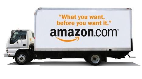 Amazon dépose un brevet pour des imprimantes 3D… Dans des camions de livraison | Inside Amazon | Scoop.it