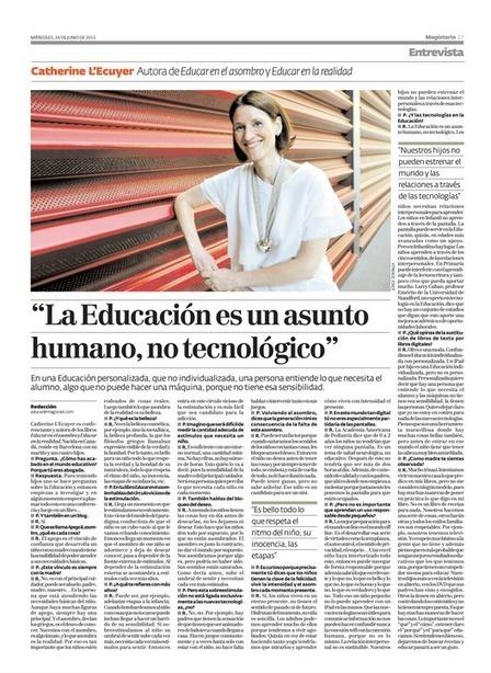educomunicacion.com: La Educación es un asunto humano, no tecnológico | Educacion, ecologia y TIC | Scoop.it