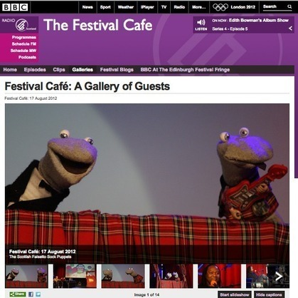 The Socks on BBC Scotland's Festival Cafe | Culture Scotland | Scoop.it