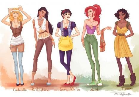 Disney Fashion: Princess Shirts - Xaichai | Xaichai.com | Scoop.it