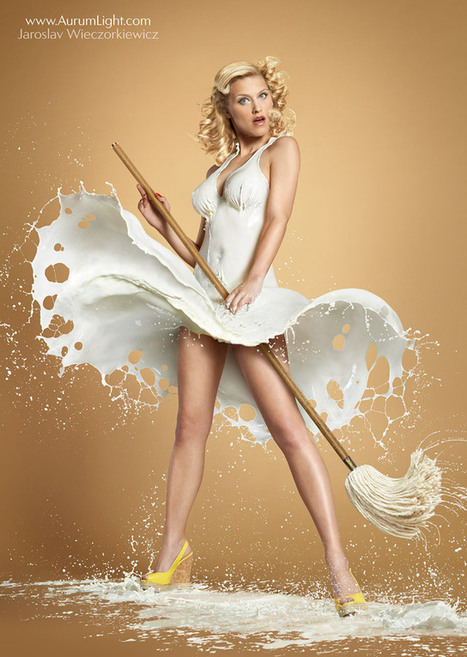Traditional 40's Pinup Photos With Models Wearing High Speed Milk | Photography Today | Scoop.it