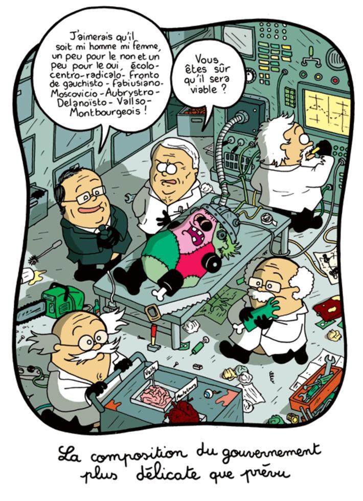 La constitution du gouvernement est plus difficile que prévu | Baie d'humour | Scoop.it