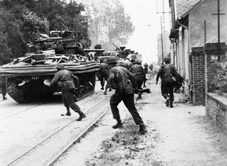 When Hollywood met Normandy, on Sword Beach, 1944 – Normandy Then and Now   Normandy Then and Now   Scoop.it