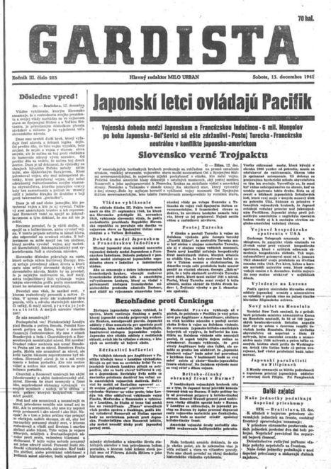 Na pltiach do Ameriky. Ako Slovensko vyhlásilo vojnu Spojeným štátom | Dejepisník | Scoop.it