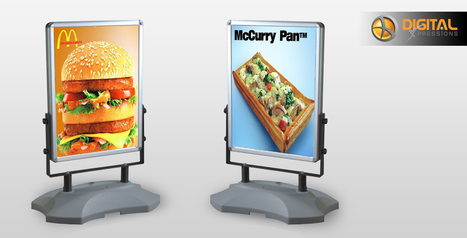 Poster Stands – An ideal way for advertising your business at trade shows | Print Media And Web Media | Scoop.it